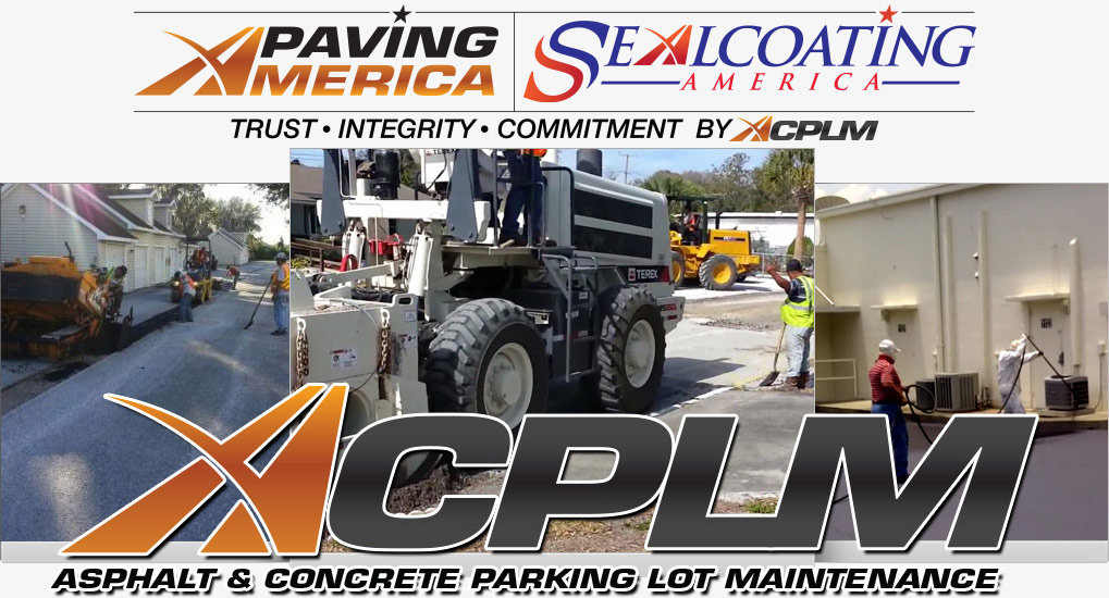 Concrete Contractors, Tampa Large Banner Image - Asphalt and Concrete Parking Lot Maintenance (ACPLM)