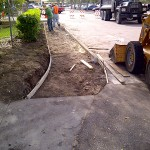 Tampa Concrete Companies, Sidewalk Work Photo - Asphalt and Concrete Parking Lot Maintenance (ACPLM)