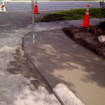 Tampa Concrete Companies, Corner Curb Photo - Asphalt and Concrete Parking Lot Maintenance (ACPLM)