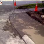 Tampa Concrete Companies, Corner Curb Photo - Asphalt and Concrete Parking Lot Maintenance (ACPLM)