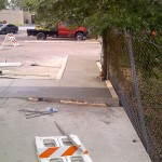 Concrete Contractors, Tampa Work In Progress Photo - Asphalt and Concrete Parking Lot Maintenance (ACPLM)