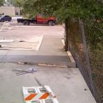 Concrete Contractors, Tampa Work In Progress Photo - Asphalt and Concrete Parking Lot Maintenance (ACPLM)