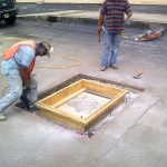 Photo Of Concrete Repair, Tampa Job Photo - Asphalt and Concrete Parking Lot Maintenance (ACPLM)
