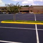 Asphalt Sealcoating, Tampa, FL Large Parking Lot Photo - Asphalt and Concrete Parking Lot Maintenance (ACPLM)