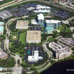 Asphalt Repair, Tampa Facility Aerial Photo - Asphalt and Concrete Parking Lot Maintenance (ACPLM)
