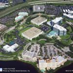 Asphalt Paving, Tampa, FL Company Aerial Photo - Asphalt and Concrete Parking Lot Maintenance (ACPLM)
