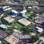 Concrete Repair, Tampa Company Aerial Photo - Asphalt and Concrete Parking Lot Maintenance (ACPLM)