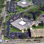 Concrete Contractors, Tampa Facility Aerial Photo - Asphalt and Concrete Parking Lot Maintenance (ACPLM)