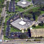 Concrete Contractors, Tampa Facility Aerial Photo - Asphalt and Concrete Parking Lot Maintenance (ACPLM)