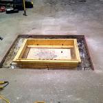 Concrete Repair, Tampa Work Site Progress Photo - Asphalt and Concrete Parking Lot Maintenance (ACPLM)