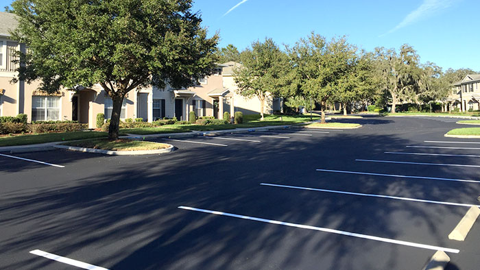 Asphalt Concret Parking Lot Maintenance