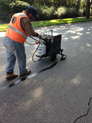 ACPLM Crack Filling Asphalt Pavement