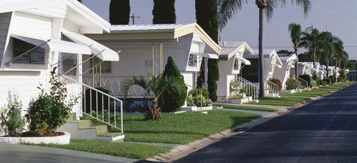 Mobile Home Park Paving - Mobile Home Park