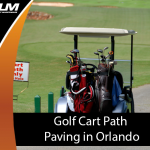 Banner: Golf Cart Path Paving in Orlando
